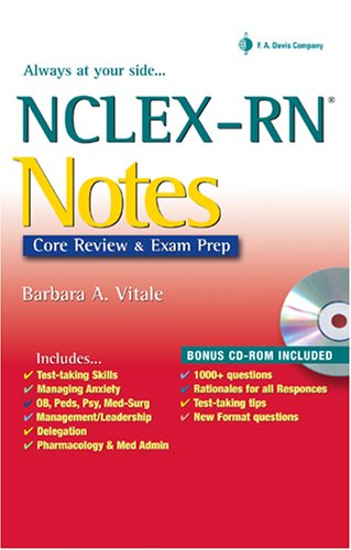 NCLEX-RN Notes Core Review and Exam Prep N/A edition cover