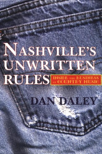 Nashville Music Machine The Unwritten Rules of the Country Music Business N/A 9780879517700 Front Cover