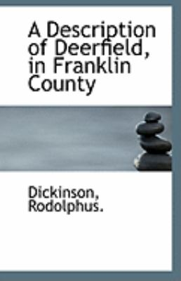 Description of Deerfield, in Franklin County  N/A 9781113232700 Front Cover