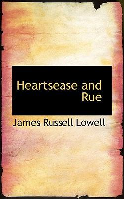 Heartsease and Rue  N/A 9781115577700 Front Cover