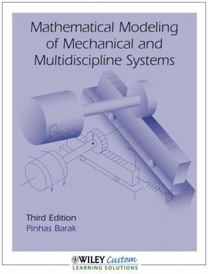 MATHEMATICAL MODELING OF MECHA N/A 9781118013700 Front Cover