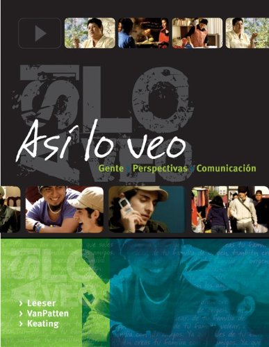 Asi lo Veo   2011 9781259664700 Front Cover