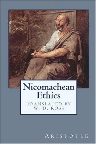 NICOMACHEAN ETHICS N/A edition cover
