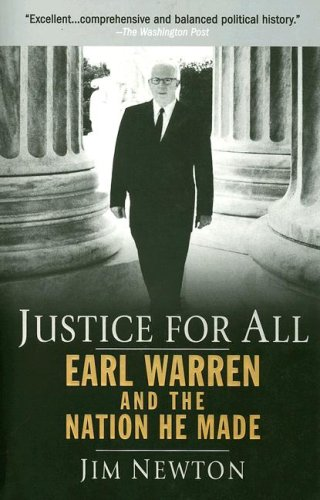 Justice for All Earl Warren and the Nation He Made N/A edition cover