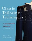 Classic Tailoring Techniques for Menswear A Construction Guide 2nd 2015 9781628921700 Front Cover