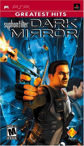Syphon Filter: Dark Mirror - Sony PSP (Jewel case) Sony PSP artwork