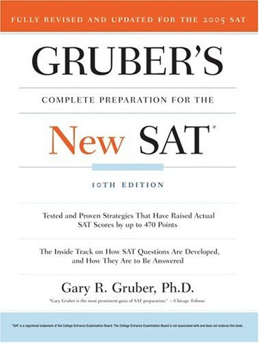 Complete Preparation for the New SAT  10th 2005 edition cover