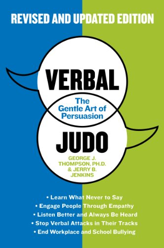 Verbal Judo The Gentle Art of Persuasion 2nd 9780062107701 Front Cover