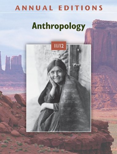 Anthropology 11/12  34th 2011 edition cover