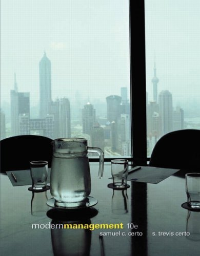 Modern Management  10th 2006 (Revised) edition cover