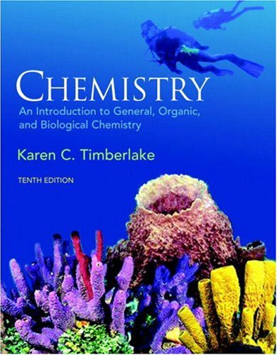 Chemistry An Introduction to General, Organic, and Biological Chemistry 10th 2009 edition cover