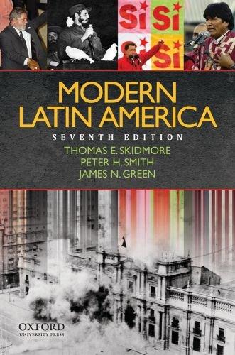 Modern Latin America  7th 2010 edition cover