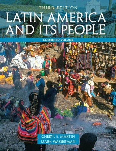 Latin America and Its People  3rd 2012 edition cover