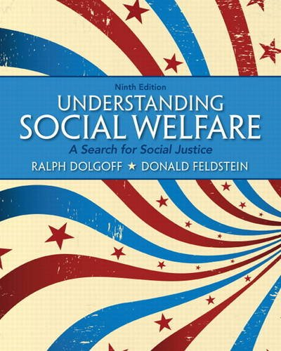 Understanding Social Welfare A Search for Social Justice 9th 2013 (Revised) edition cover
