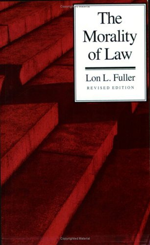 Morality of Law   1969 (Revised) edition cover