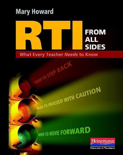 RTI from All Sides What Every Teacher Needs to Know  2009 edition cover