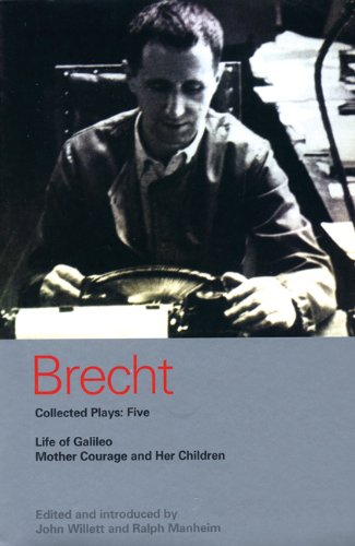 Brecht Collected Plays Life of Galileo-Mother Courage and Her Children  1999 edition cover