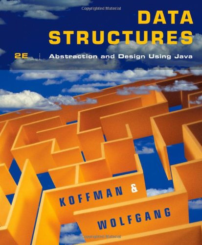 Data Structures Abstraction and Design Using Java 2nd 2010 edition cover