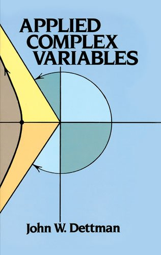 Applied Complex Variables  Reprint edition cover