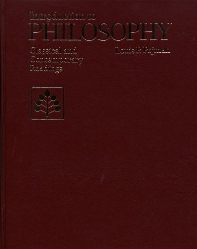 Introduction to Philosophy Classical and Contemporary Readings 1st edition cover
