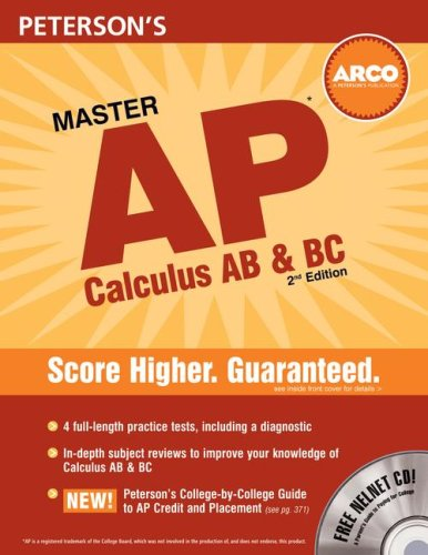 Master AP Calculus AB and BC  2nd 2007 edition cover