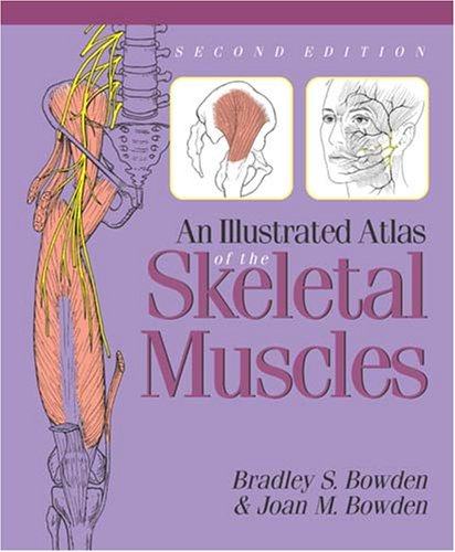 Illustrated Atlas of the Skeletal Muscles  3rd 2005 edition cover