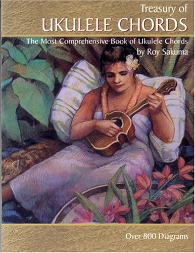 Treasury of Ukulele Chords : The Host Comprehensive Book of Ukulele Chords  1998 edition cover