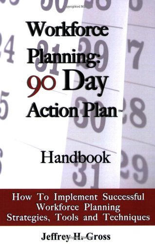 Workforce Planning - 90 Day Action Plan How to Implement Successful Workforce Planning Strategies, Tools, and Techniques N/A 9780982256701 Front Cover