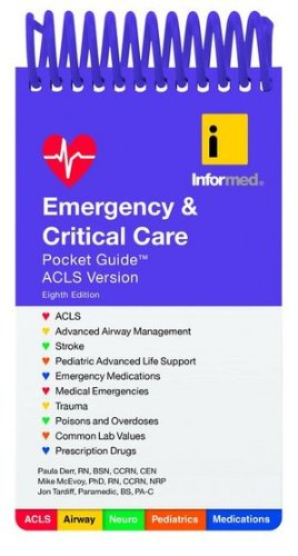 Emergency & Critical Care Pocket Guide:   2013 edition cover
