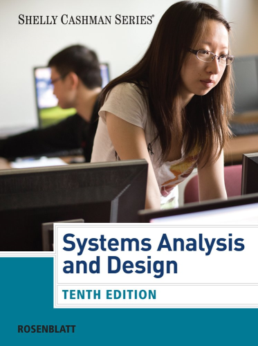 Systems Analysis and Design: 10th 2013 edition cover