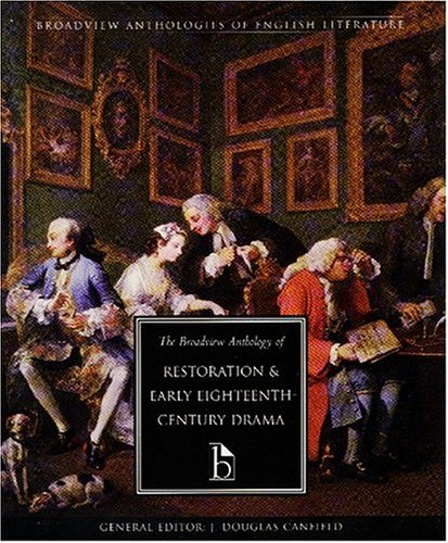 Anthology of Restoration and Early Eighteenth-Century English Drama   2001 edition cover