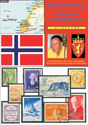 Great Collections of Scandinavian Philately: Norway  2011 edition cover