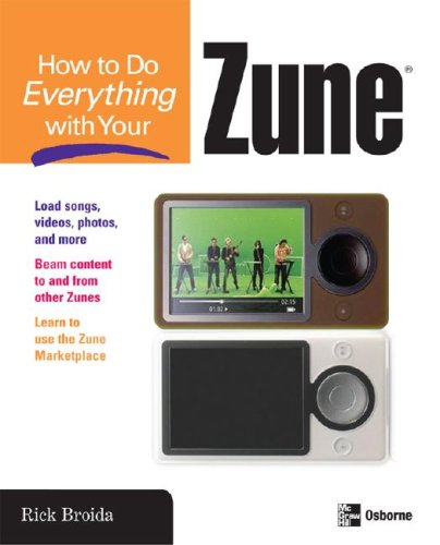 How to Do Everything with Your Zune   2008 9780071490702 Front Cover