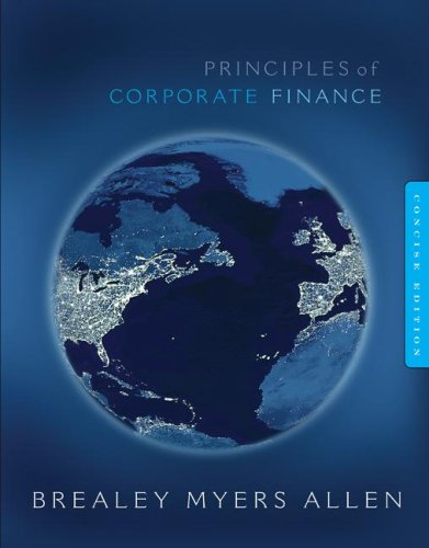 Principles of Corporate Finance w/Bind-in Card--Madatory Package   2009 9780073368702 Front Cover