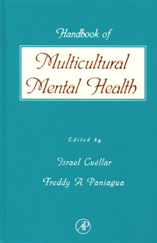 Handbook of Multicultural Mental Health Assessment and Treatment of Diverse Populations  2000 edition cover