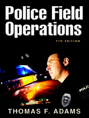 Police Field Operations  7th 2007 (Revised) edition cover