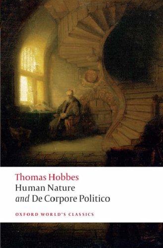 Human Nature and de Corpore Politico   2008 edition cover