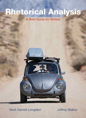 Rhetorical Analysis A Brief Guide for Writers  2011 edition cover