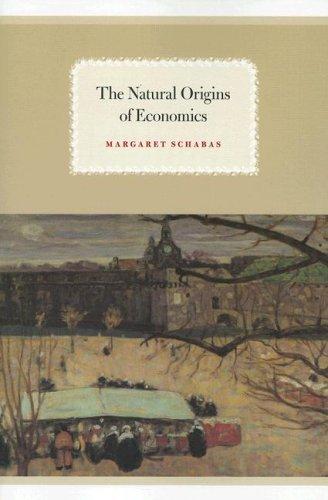 Natural Origins of Economics   2007 edition cover