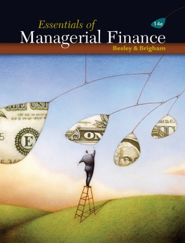 Essentials of Managerial Finance  14th 2008 (Revised) edition cover