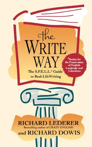 Write Way The Spell Guide to Good Grammar and Usage  1995 edition cover