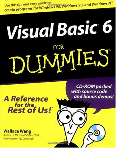 Visual Basic 6 for Dummies   1998 edition cover