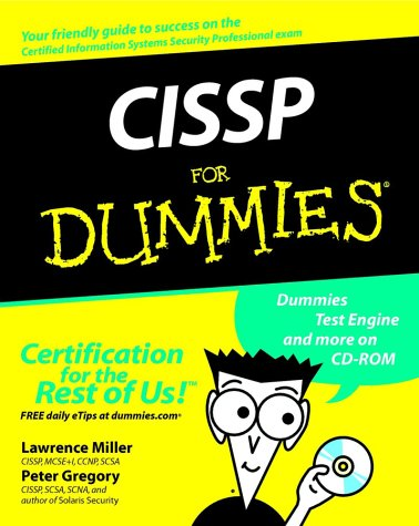 CISSP for Dummies   2002 9780764516702 Front Cover