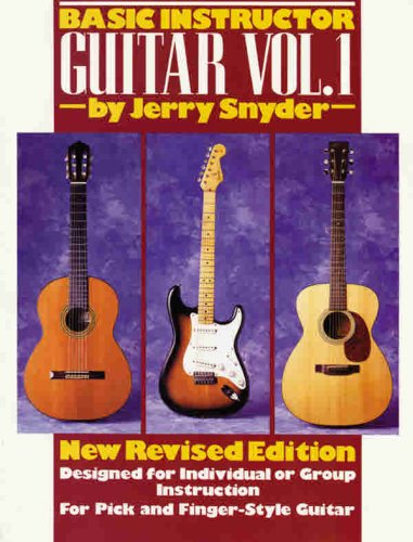 Basic Instructor Guitar   1995 (Revised) edition cover
