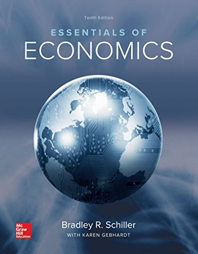 Essentials of Economics:  10th 2016 edition cover