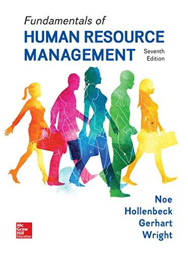 Fundamentals of Human Resource Management 7th 2017 9781259686702 Front Cover