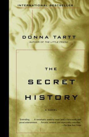 Secret History   1992 edition cover