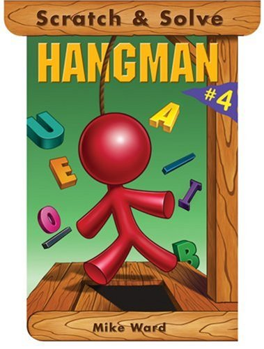 Scratch and Solve Hangman 4  N/A 9781402743702 Front Cover