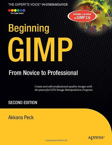 Beginning GIMP  2nd 2009 edition cover