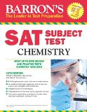 Barron's S. A. T. Subject Test Chemistry  12th 2014 (Revised) 9781438003702 Front Cover